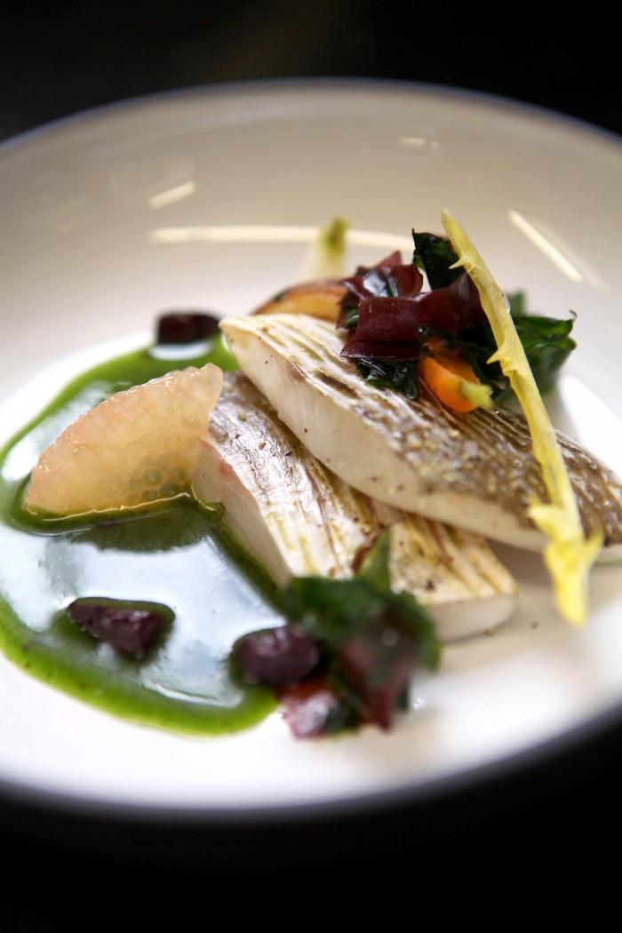 recette d'Eric Guerin, chef de l'hôtel restaurant spa espace bien être la mare aux oiseaux près de saint nazaire, guérande et la baule